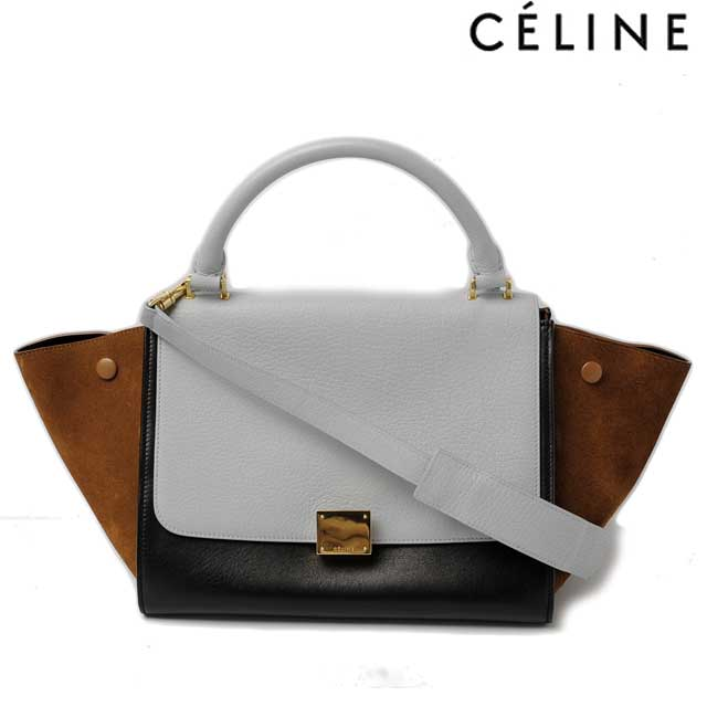 0d00c8b5659 Import shop P.I.T.: Celine handbag / shoulder bag CELINE Trapeze ...