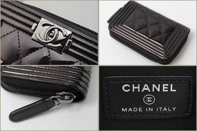 31c2e574b99c8c Import shop P.I.T.: Chanel purse / card case CHANEL A80748 boy ...