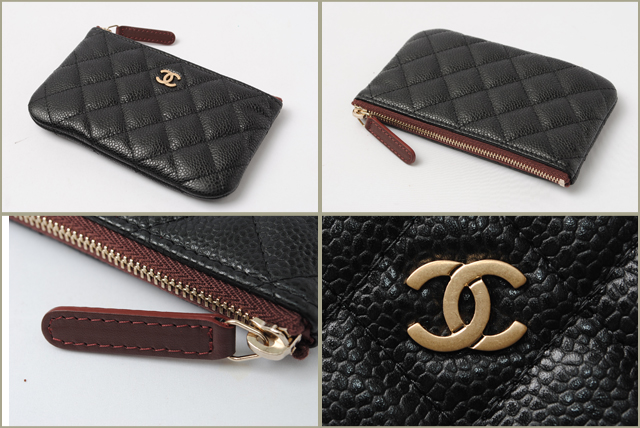 chanel zip coin purse. シャネル chanel 折財布 chanel zip coin purse p
