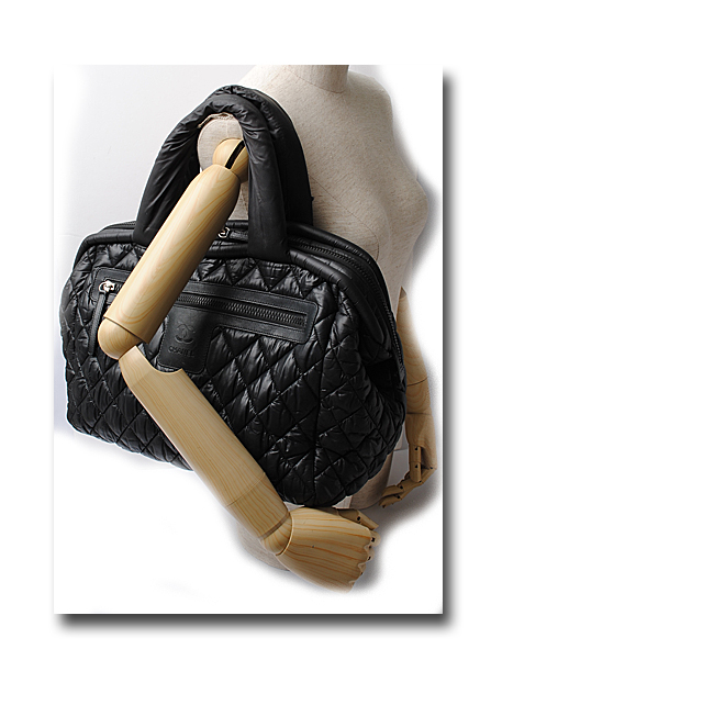 e289a50b1d9e Import shop P.I.T.  CHANEL CHANEL mini-Boston bag here cocoon  COCO ...