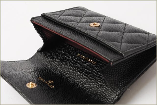 deb354682648 Chanel purse / card case. A50169 CHANEL caviar skin black gold hardware  シャネル CHANEL 財布 シャネル CHANEL 財布 シャネル CHANEL 財布 シャネル CHANEL 財布