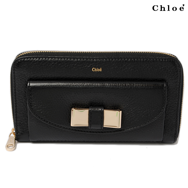 Chloé Lily Compact Wallet Leather - LXRandCo - Pre-Owned ...