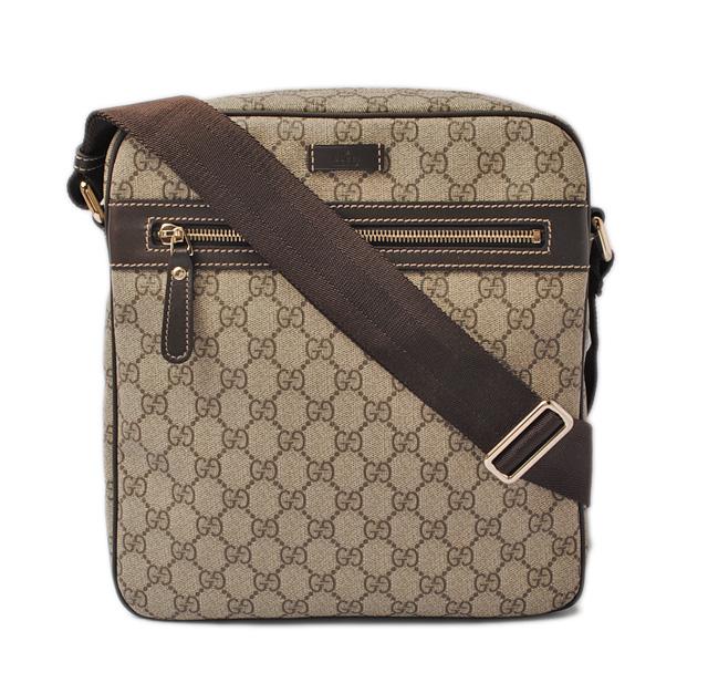 80e644a8a Gucci messenger bag / shoulder bag. GUCCI GG plus GG brown / beige 201448  KGDIG 8588 グッチ GUCCI バッグ