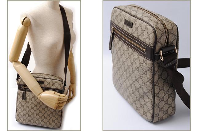 afc6053d390 Import shop P.I.T.  Gucci messenger bag   shoulder bag GUCCI GG plus ...