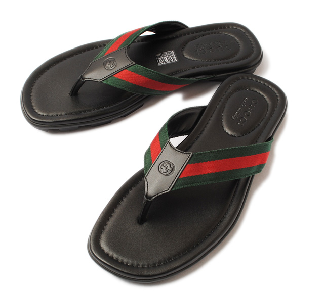 ee8522014598 Import shop P.I.T.  Gucci men sandals GUCCI トングサンダルウェビング ...