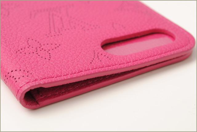 detailed look d7bd9 37c49 Louis Vuitton iphone 7plus case /7+ case LOUIS VUITTON iphone7+ folio  fuchsia M62196