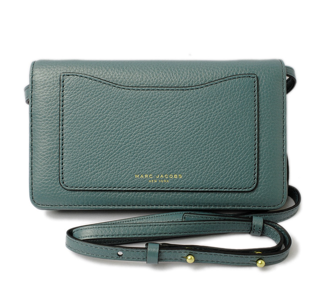 grand choix de a6413 54a7b Mark Jacobs wallet / clutch bag MARC JACOBS pochette RECRUIT/ Recruit HAZAY  BLUE/ blue system M0008178