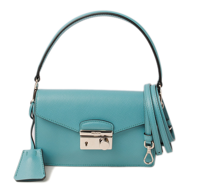 bd6ae5df932 Prada accessories porch   smartphone case. PRADA SAFFIANO LUX  leather  TURCHESE  turquoise BN2662