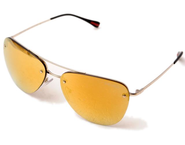 7b5d1577c121 Prada sunglasses PRADA PRADA Prada SPS53R リネア ロッサミラーイエローミラーレンズ man and  woman combined use is unused