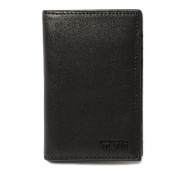 トゥミ IDケース/カードケース TUMI DELTA/デルタ 0118674D MULTI WINDOW ブラック 未使用【中古】