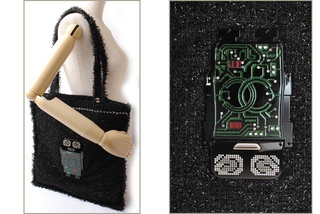 0ead9c6c7d75c9 Import shop P.I.T.: Chanel tote bag / shopping bag CHANEL tweed ...