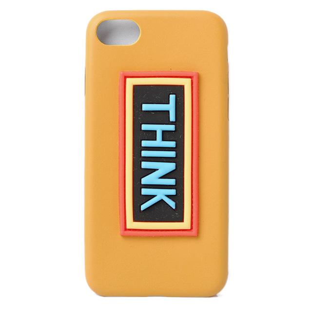 フェンディ iPhoneケース/アイフォンケース FENDI iPhone7/iPhone8 ケース/カバー VOCABULARY THINK/イエロー 7AR5917AR591 未使用【中古】