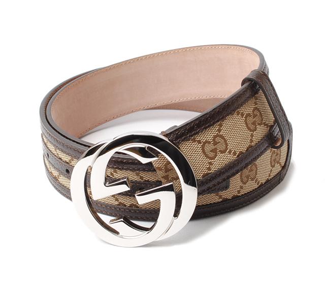 0561d98ffea Gucci belt unisex GUCCI GG buckle GG brown   beige 114876 F40IR 9643 size  95 apparel