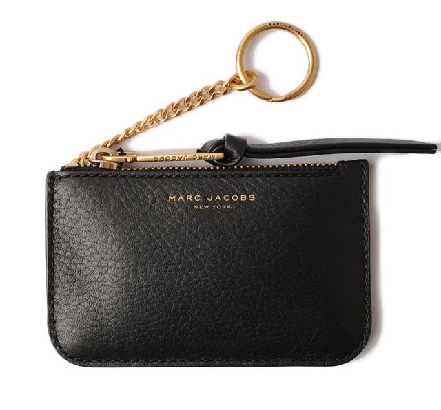 Import P I T Mark Jacobs Key Case Coin Marc. Mark Jacobs Folio Wallet  M0013360 Marc Snapshot Mini Pact Black Chianti Leather 136cd4921b2cd