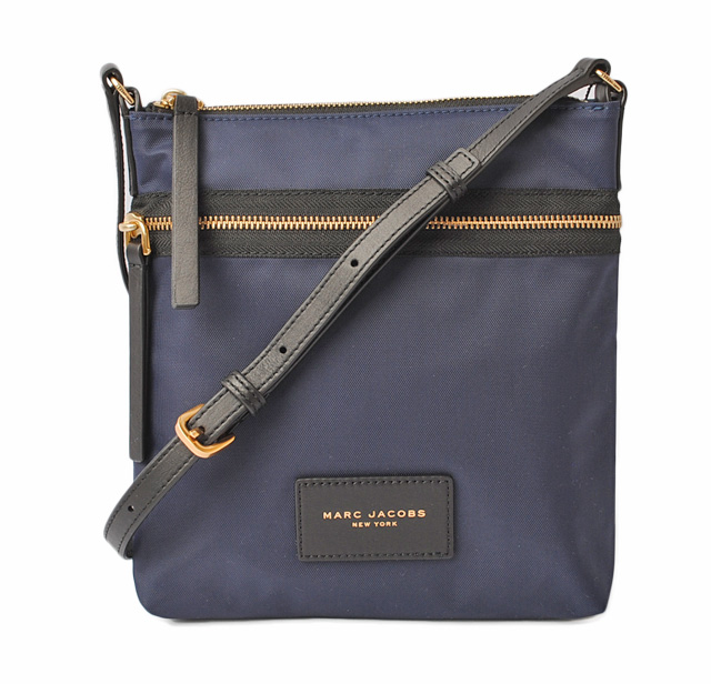 b2555d9bf1 Mark Jacobs shoulder bag / crossbody bag. MARC JACOBS BIKER nylon NORTH  SOUTH MIDNIGHT BLUE/ navy M0010065