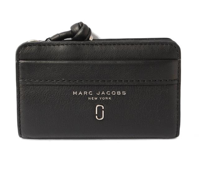 マークジェイコブス 財布 MARC JACOBS 折財布 TIED UP/タイド アップ コンパクト ブラック M0012643