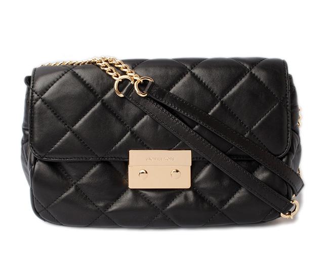 38695085bf0bad Michael Kors handbag / shoulder bag. MICHAEL KORS Sloane large chain /SLOAN  black / gold 30T2GSLF3N マイケルコース