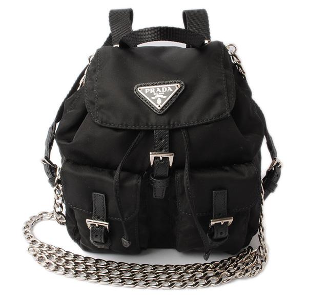 bd784b1361 Import shop P.I.T.  VELA  nylon NERO  black 1BH029 with Prada ...
