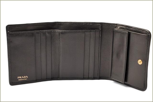 89f215e863e3 Import shop P.I.T.: Prada wallet PRADA three wallet 1MH176 NAPPA ...