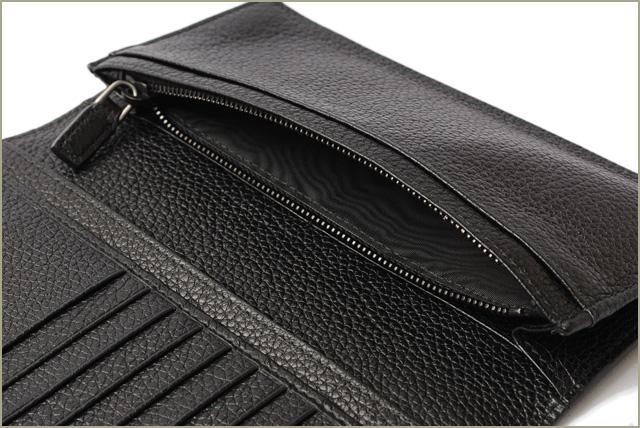 2728f825f3265 Prada wallet men PRADA long wallet 2MV836 TORO  calf NERO  black mint  condition