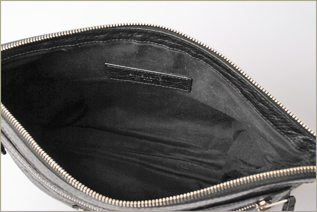 74d020cba5 Valencia calyx latch bag   second bag BALENCIAGA clip medium size black    silver 273022