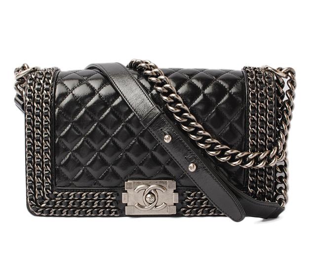 d6d173aab873 Import shop P.I.T.: Chanel chain shoulder bag CHANEL matelasse boy ...