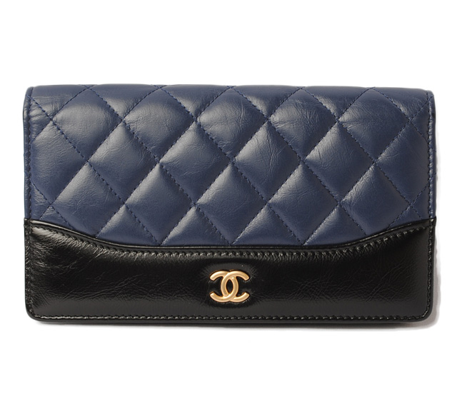 2e486d3036c347 Import shop P.I.T.: Chanel wallet CHANEL long wallet matelasse ...