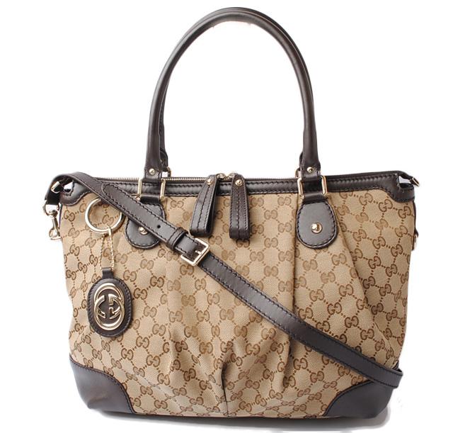 4be8fa99bb Gucci tote bag GUCCI shoulder bag /SUKEY Sioux key GG brown / beige 211944  FAFXG ...