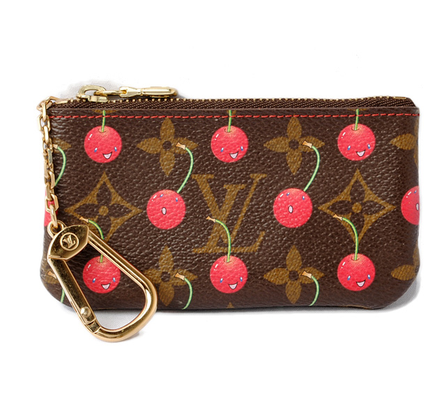 955a0c84bbdf Louis Vuitton coin purse   key case. LOUIS VUITTONPochette clay M95042 monogram  cherry ルイヴィトン