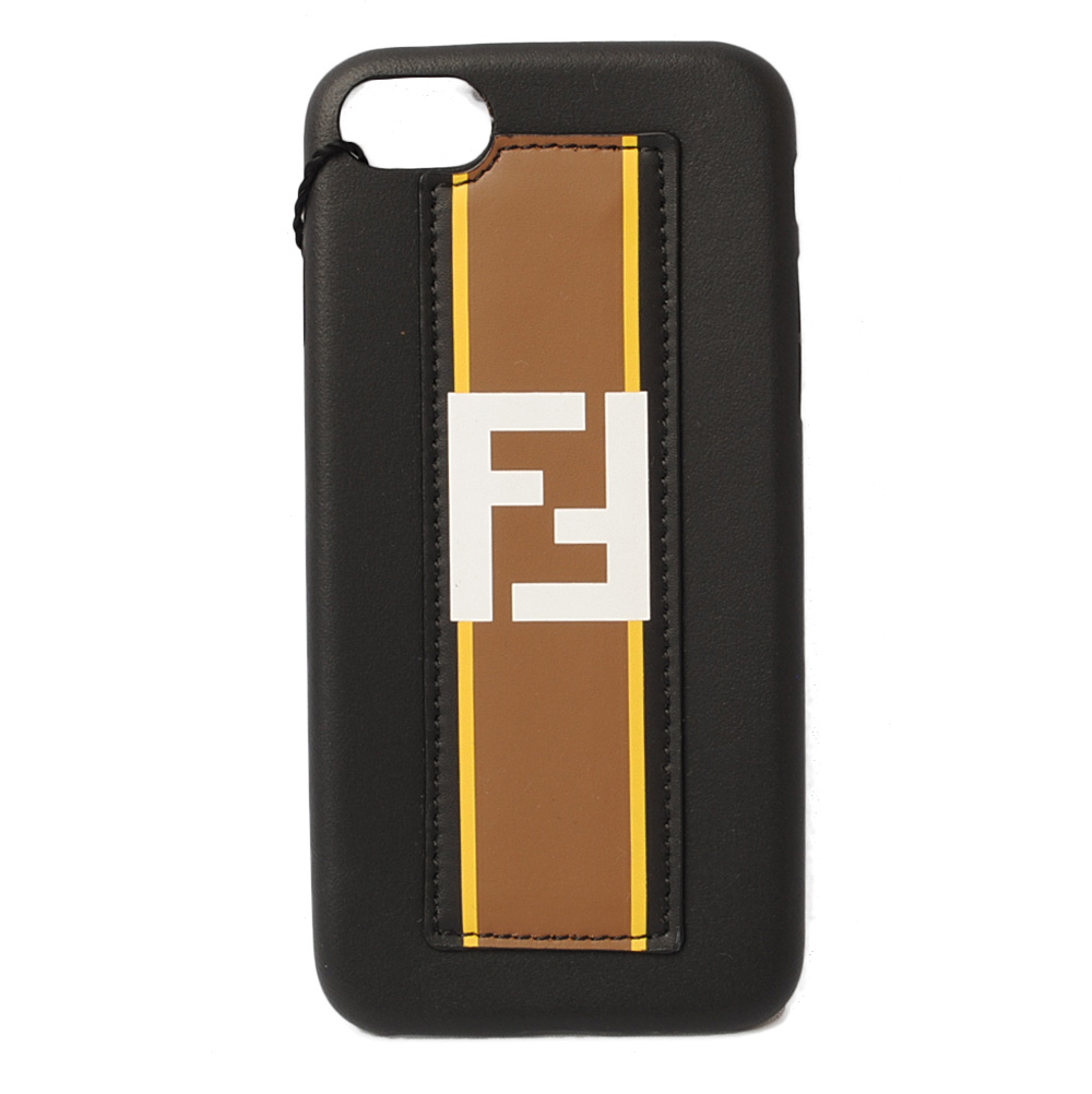 hot sale online d1c28 97fce Fendi iPhone8 case /iPhone7 case FENDI iPhone case / cover FOREVER black /  marron 7AR591 is unused