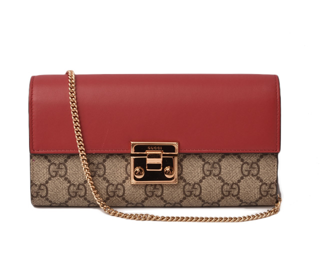 f3fdabacbeb2 Import shop P.I.T.  Gucci wallet GUCCI long wallet   chain wallet GG ...