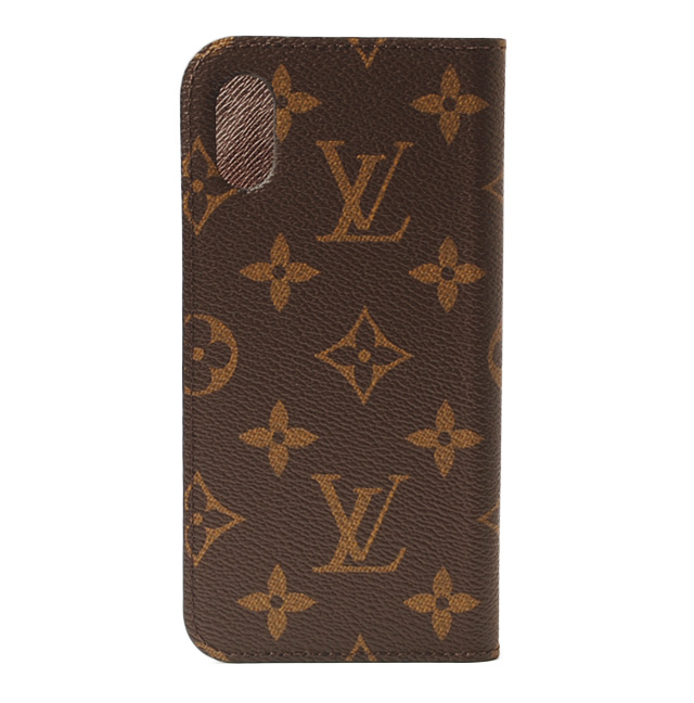 cheap for discount 35ec6 62ce9 Louis Vuitton iPhone X case /iPhone cover LOUIS VUITTON iPhone X folio  monogram M63443