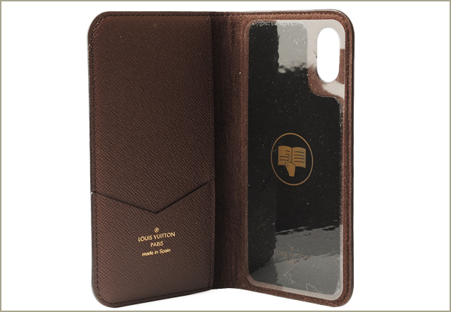 cheap for discount 2ac05 4f02e Louis Vuitton iPhone X case /iPhone cover LOUIS VUITTON iPhone X folio  monogram M63443