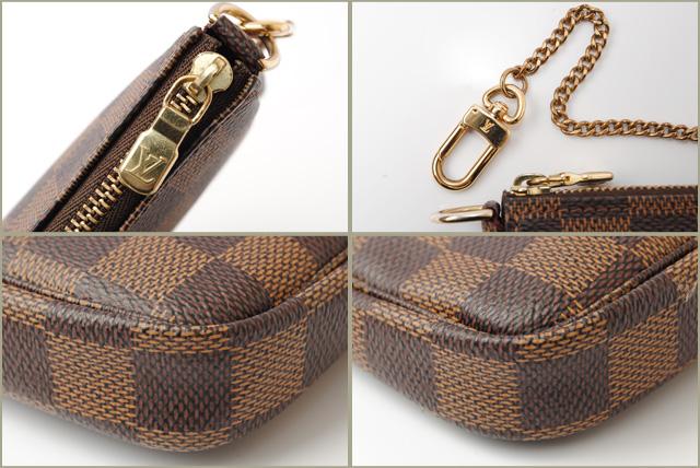 b5bdc3741c22 Louis Vuitton accessories porch LOUIS VUITTON mini-pochette アクセソワール N58009  ダミエ