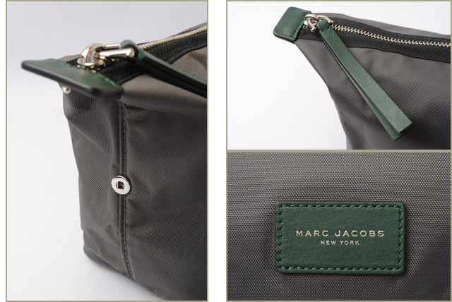 abfbc9b9f611 Mark Jacobs travel porch   clutch bag. MARC JACOBS BIKER nylon large porch  SHADOW M0008304