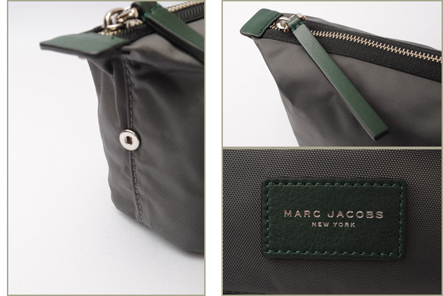 e99659b9eb6b Mark Jacobs travel porch   clutch bag. MARC JACOBS BIKER nylon porch SHADOW   gray M0008303
