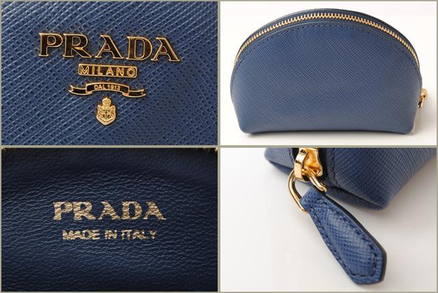 6b7449544e4df7 Import shop P.I.T.: Prada coin case / coin purse PRADA key ring ...