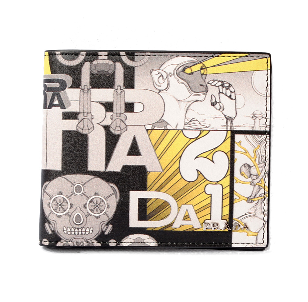 44b071bed26d5f Import shop P.I.T.: PRADA fold wallet / billfold 2MO513 VITELLO ...