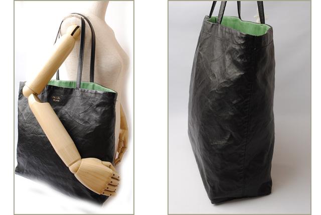 89e861582e9c Import shop P.I.T.: Prada tote bag / shoulder bag PRADA reversible ...