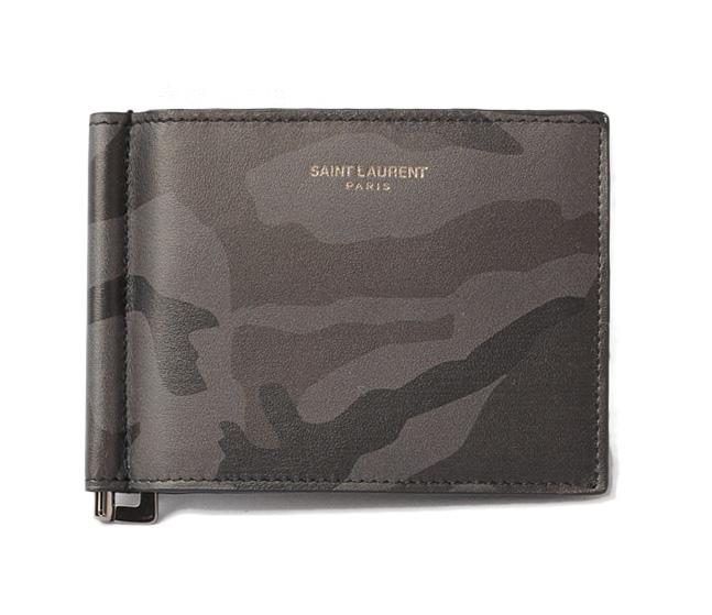 dfd2fcb85a762 Saint-Laurent Paris money clip   wallet YSL SAINT LAURENT PARIS men fold  wallet 378005 CAMOUFLAGE  camouflage
