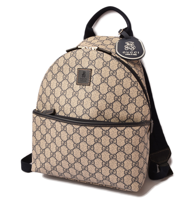 28ddc0555 Import shop P.I.T.: Gucci kids backpack / rucksack GUCCI GG ...