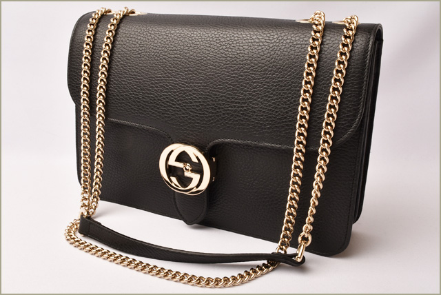b982cb9a408 Import shop P.I.T.: Gucci chain shoulder bag / handbag GUCCI 2way ...