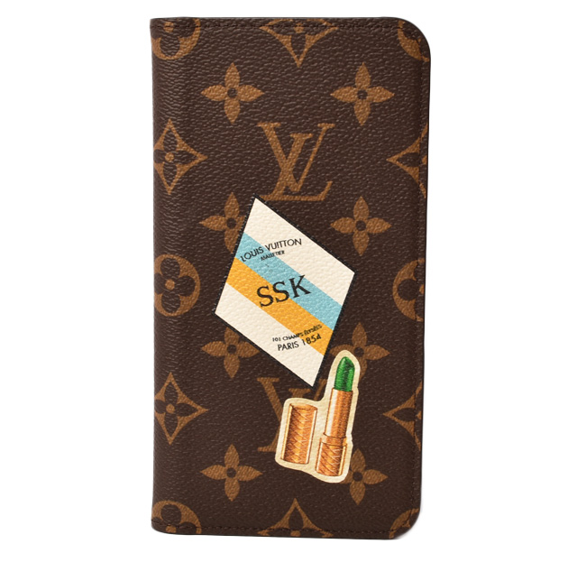 competitive price fcd99 4dfa5 Louis Vuitton iphone 8plus case /8+ case /7plus case /7+ case LOUIS VUITTON  iphone8+/iphone7+ folio lip monogram / rouge