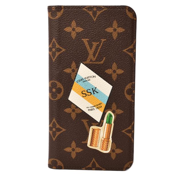 8522a46cc0 Louis Vuitton iphone 8plus case /8+ case /7plus case /7+ case LOUIS VUITTON  iphone8+/iphone7+ folio lip monogram / rouge