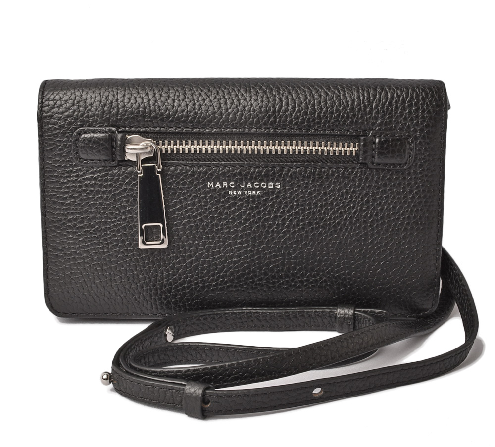 35eb0f03e4ce Mark Jacobs wallet   clutch bag MARC JACOBS pochette GOTHAM  ゴッサムブラック  M0008464