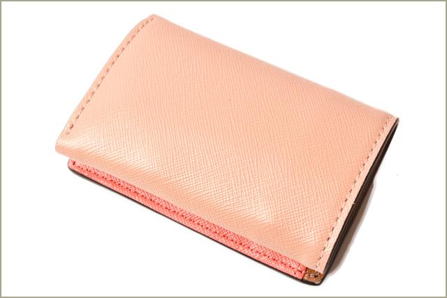 462644ed6b Mark Jacobs mini-wallet. MARC JACOBS mini-try fold / three fold snapshot  black / Rose M0013597