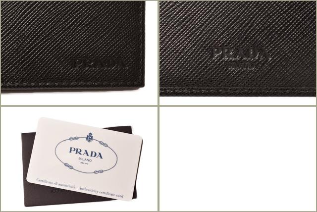 4e7f2ef73f0d ... Prada wallet / money clip PRADA fold wallet 2MN077 SAFFIANO/ type push  leather NERO/