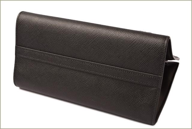 0a93249cadbe ... Prada handbag / shoulder bag 2way PRADA monochrome SAFFIANO CUIR/ サフィアノ  NERO/ black 1BA156 ...