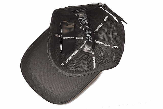 9a46c79c2 Emporio Armani cap / hat EMPORIO ARMANI men baseball cap logo / black  627502 8A552 00020