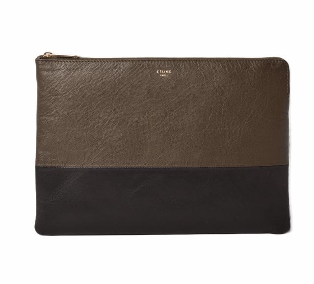 bdc13f1d59a6f Import shop P.I.T.: Celine clutch porch / clutch bag CELINE leather ...